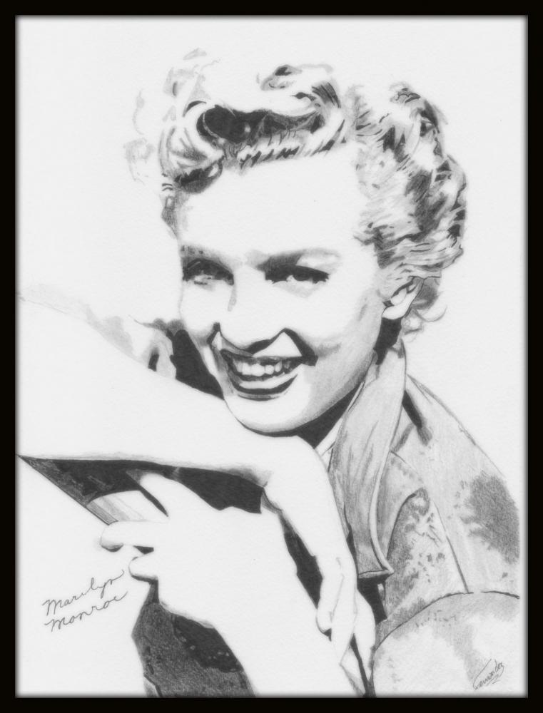 Marilyn Monroe by Clint